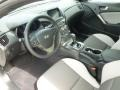 Gray Leather/Gray Cloth Prime Interior Photo for 2013 Hyundai Genesis Coupe #65520278