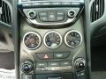 Gray Leather/Gray Cloth Controls Photo for 2013 Hyundai Genesis Coupe #65520296