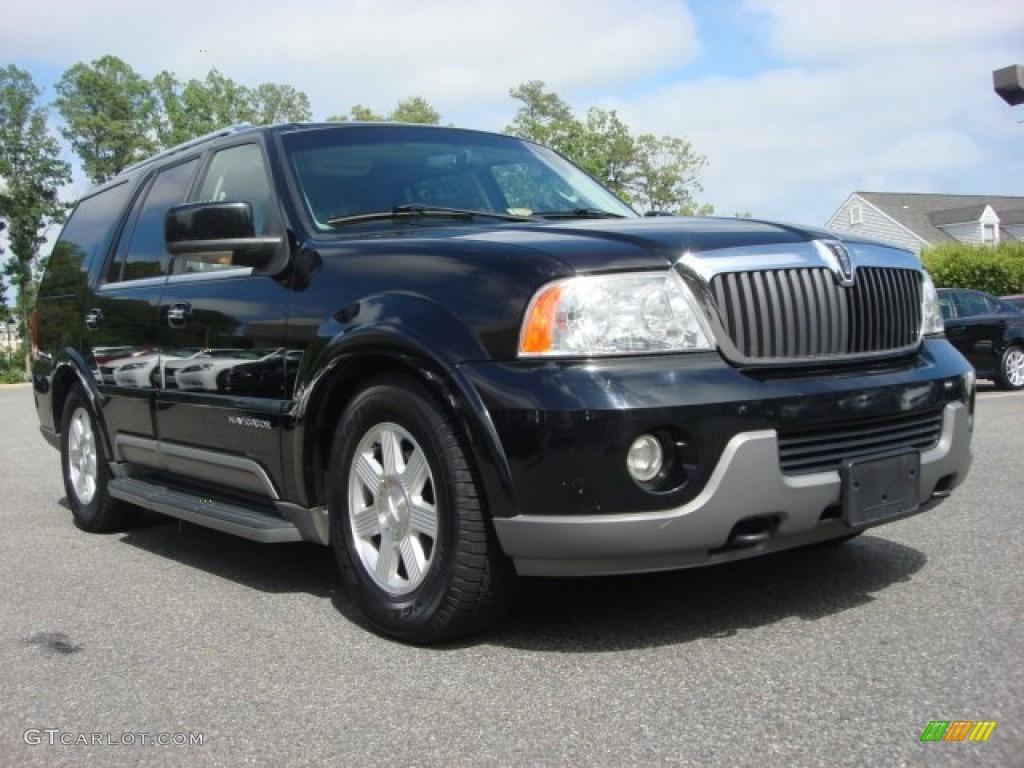 2003 Black Lincoln Navigator Luxury 4x4 65480785 Car Color Galleries