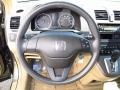 Ivory Steering Wheel Photo for 2009 Honda CR-V #65526479
