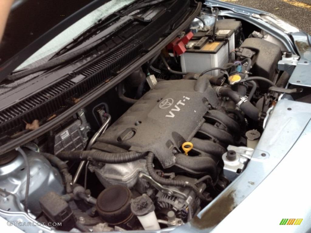 toyota yaris 2009 engine size