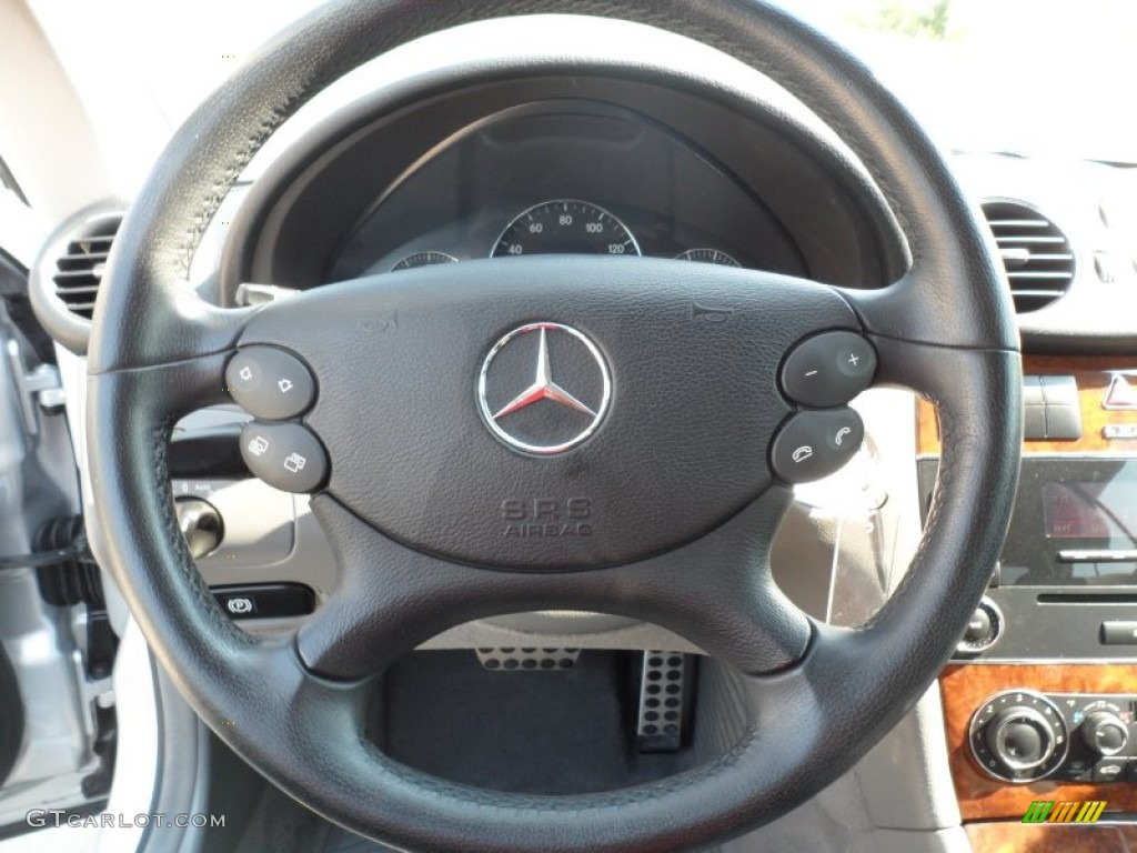 2006 mercedes benz clk 350 coupe ash steering wheel photo for Mercedes benz steering wheel control buttons