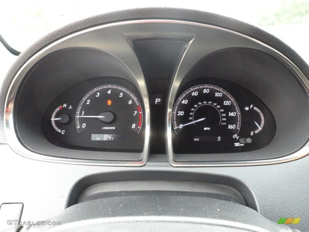 2012 Toyota Avalon Limited Gauges Photo 65537121