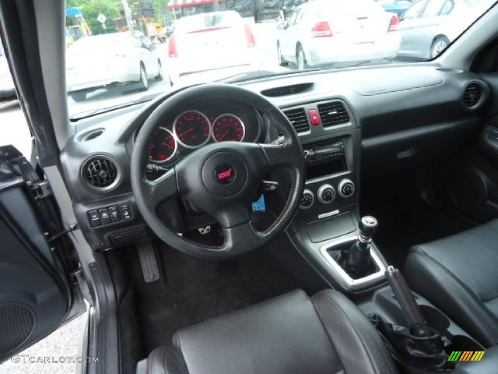 2007 Subaru Impreza Wrx Sti Limited Sti Limited Black