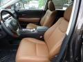 Saddle Tan/Espresso Birds Eye Maple Front Seat Photo for 2013 Lexus RX #65542845