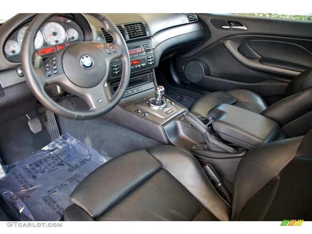 Black Interior 2002 Bmw M3 Coupe Photo 65544171 Gtcarlot Com