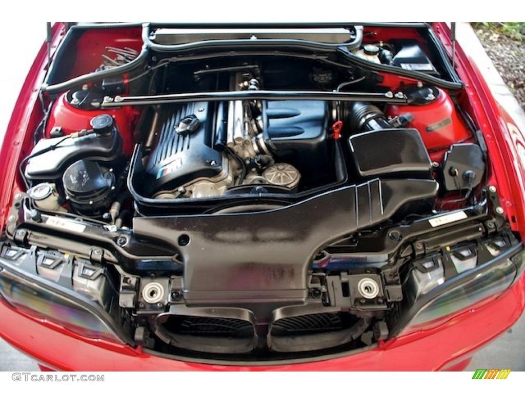 2002 bmw m3 horsepower