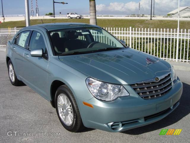 2008 Clearwater Blue Pearl Chrysler Sebring Touring Sedan 542441