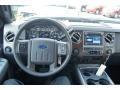 2012 Vermillion Red Ford F250 Super Duty Lariat Crew Cab 4x4  photo #33