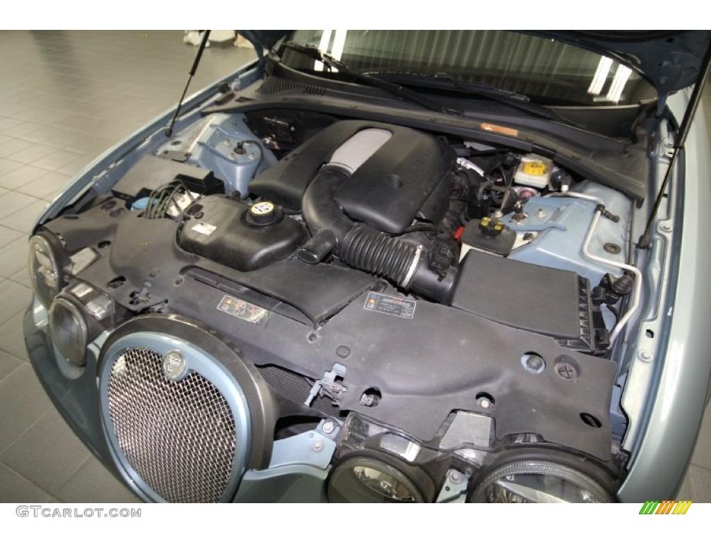 2005 jaguar s type r 4 2 liter supercharged dohc 32 valve v8 engine photo 65552477. Black Bedroom Furniture Sets. Home Design Ideas