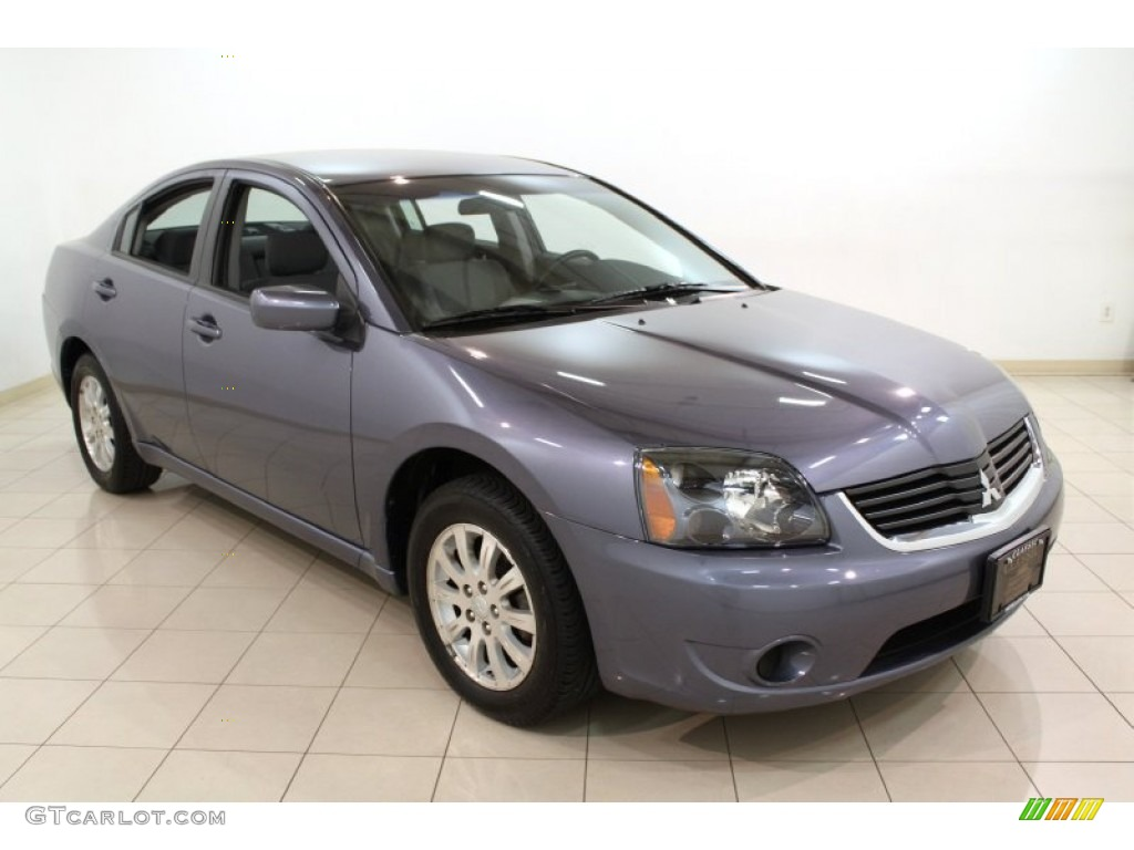Still Blue Pearl 2008 Mitsubishi Galant ES Exterior Photo ...