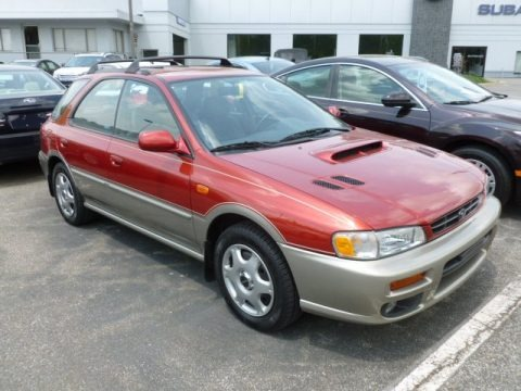 2000 Subaru Impreza Outback Sport Wagon Data Info And Specs