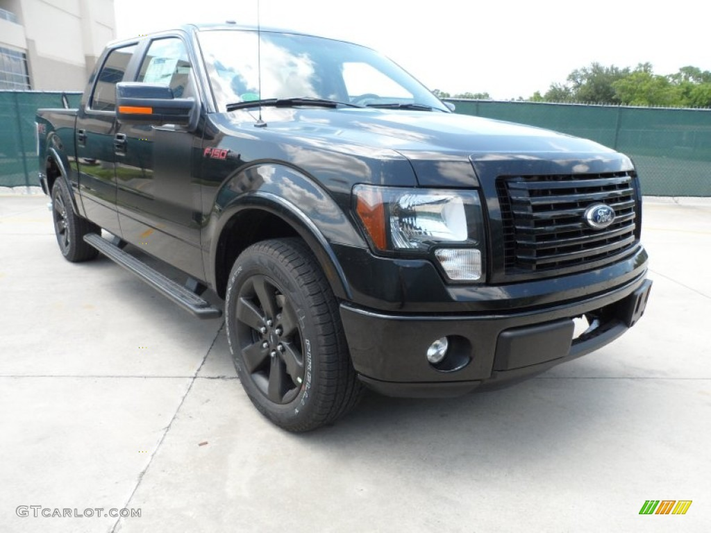 Tuxedo Black Metallic 2012 Ford F150 Fx2 Supercrew
