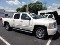 2011 White Diamond Tricoat Chevrolet Silverado 1500 LTZ Crew Cab 4x4  photo #7