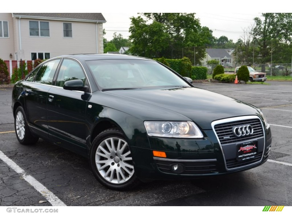 2007 Cambridge Green Pearl Audi A6 3 2 Quattro Sedan