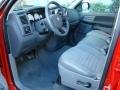 2008 Flame Red Dodge Ram 1500 Big Horn Edition Quad Cab  photo #10