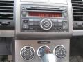 2011 Nissan Sentra Charcoal Interior Audio System Photo
