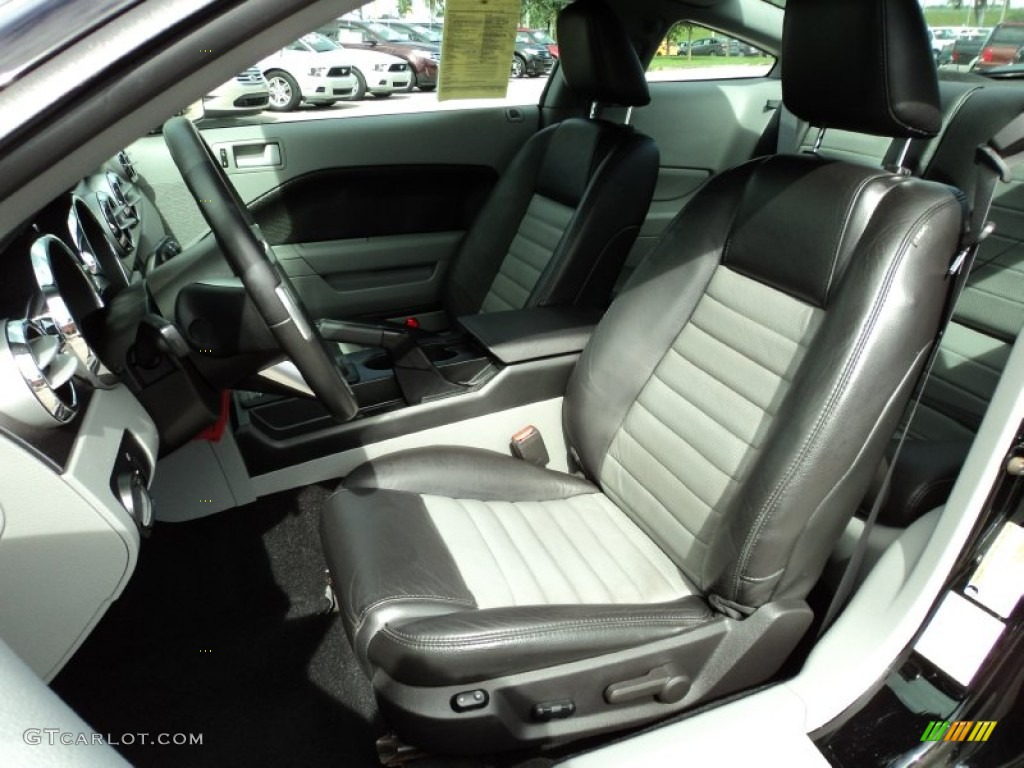 Charcoal Black Dove Interior 2008 Ford Mustang Gt Cs California Special Coupe Photo 65580245