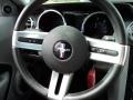 Charcoal Black/Dove Steering Wheel Photo for 2008 Ford Mustang #65580269