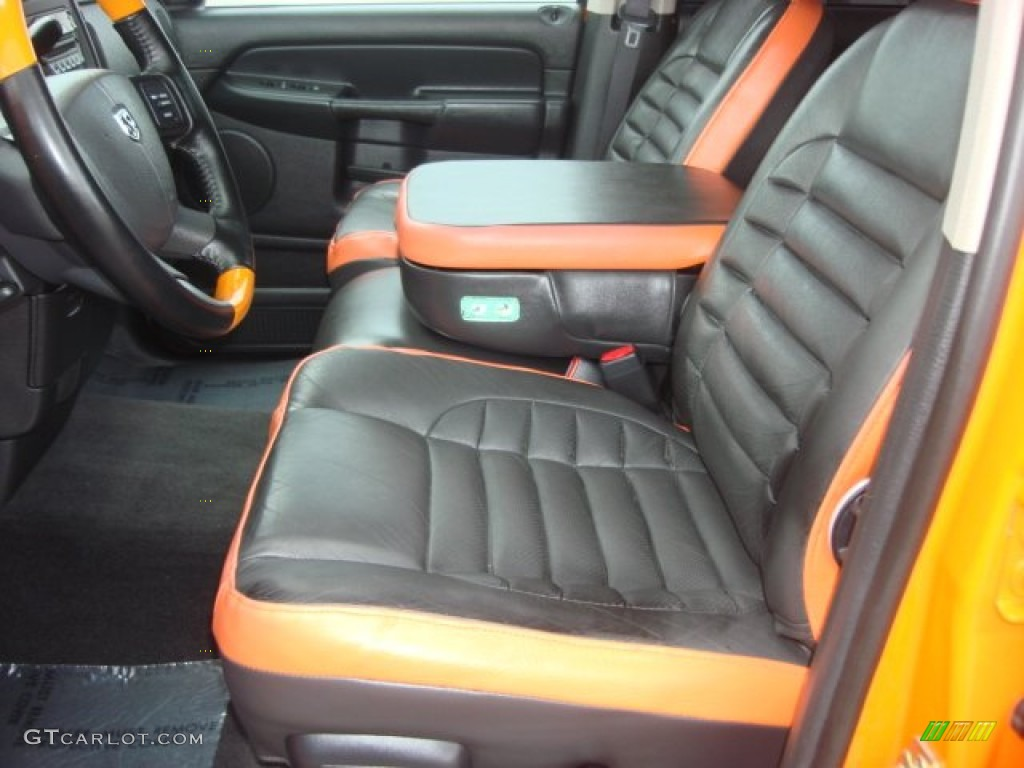 2004 custom orange dodge ram 1500 hemi gtx regular cab 65553472 photo 9 car. Black Bedroom Furniture Sets. Home Design Ideas