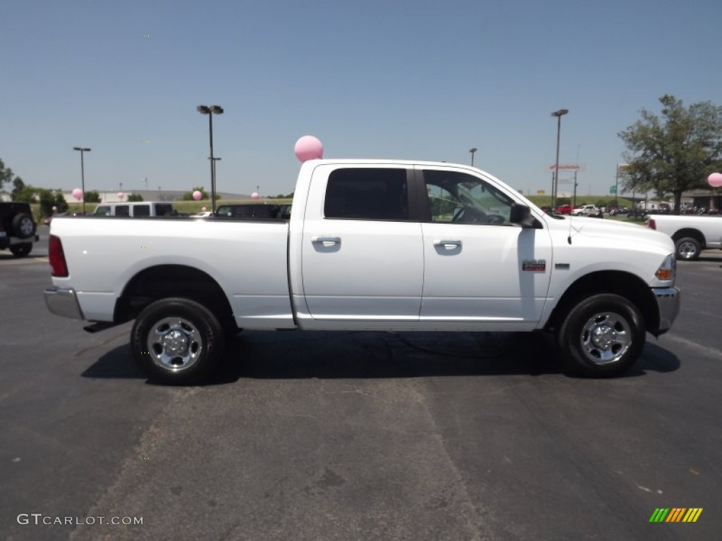 bright white 2012 dodge ram 2500 hd slt crew cab 4x4 exterior photo 65587253. Black Bedroom Furniture Sets. Home Design Ideas