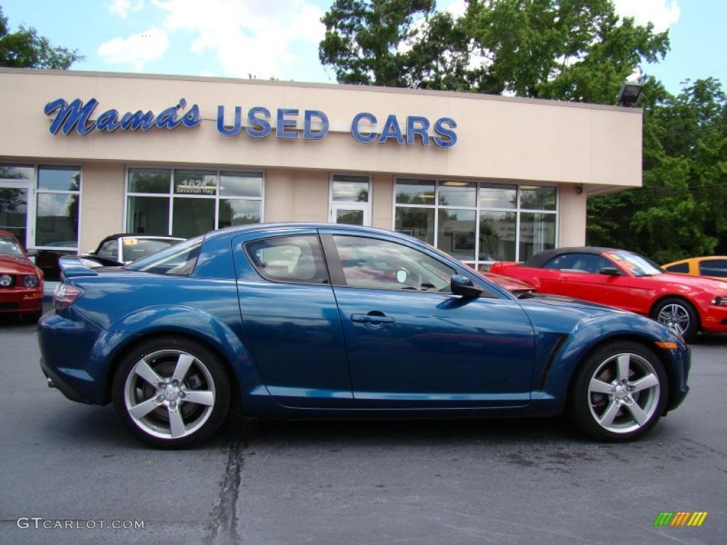 2006 phantom blue mica mazda rx-8 #65553683 | gtcarlot - car