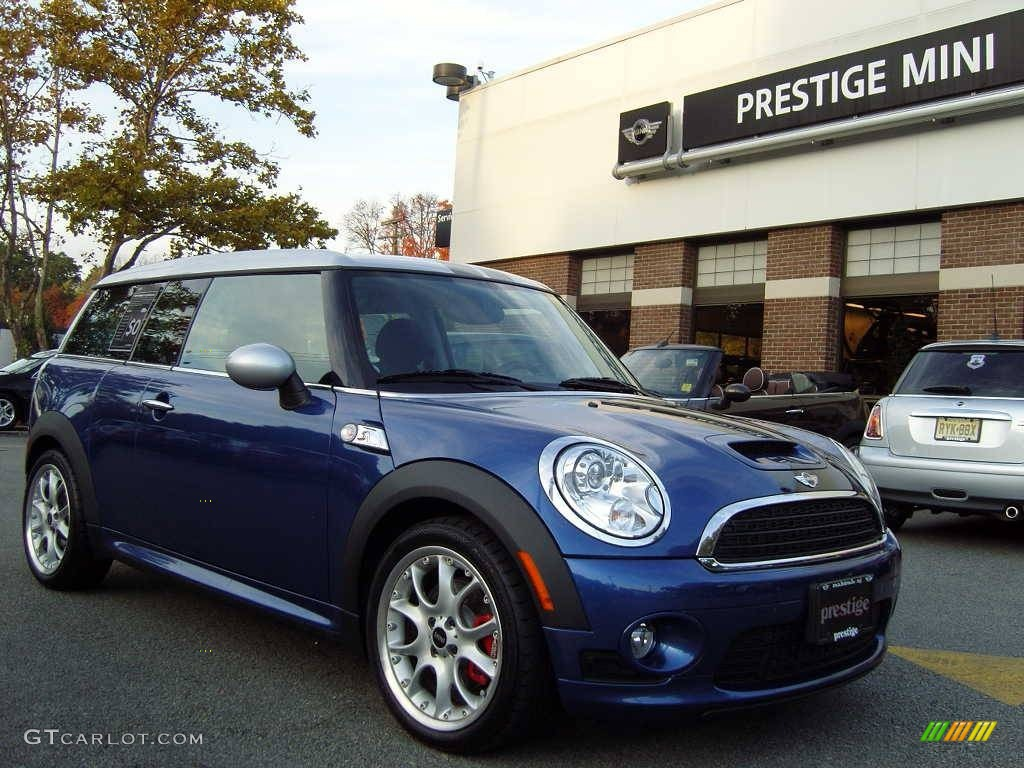 2009 lightning blue metallic mini cooper s clubman 65553421 car color galleries. Black Bedroom Furniture Sets. Home Design Ideas