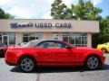 2011 Race Red Ford Mustang V6 Premium Convertible  photo #1