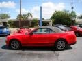 2011 Race Red Ford Mustang V6 Premium Convertible  photo #5