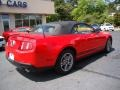 2011 Race Red Ford Mustang V6 Premium Convertible  photo #8