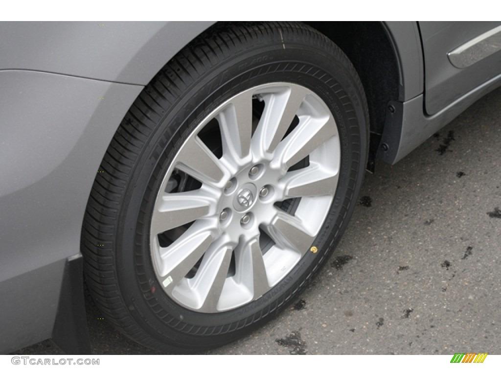 2012 Sienna Limited AWD - Silver Sky Metallic / Light Gray photo #8