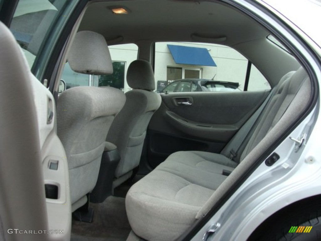 Quartz Gray Interior 2001 Honda Accord Lx Sedan Photo
