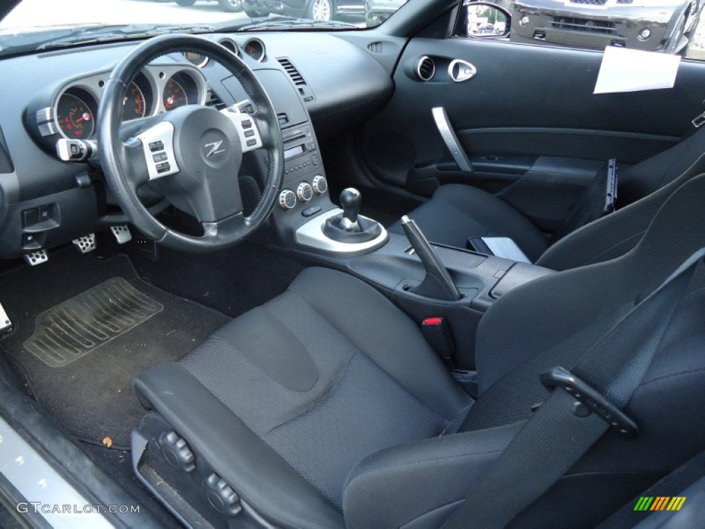 carbon interior 2008 nissan 350z enthusiast coupe photo. Black Bedroom Furniture Sets. Home Design Ideas