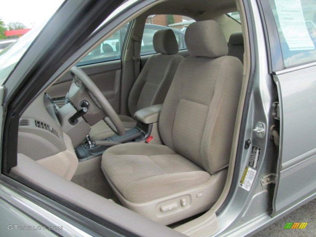 taupe interior 2006 toyota camry le photo 65619333. Black Bedroom Furniture Sets. Home Design Ideas