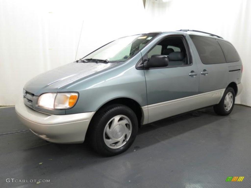 Silver Spruce Metallic 2000 Toyota Sienna Xle Exterior Photo 65620629