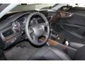 Black 2012 Audi A7 Interiors