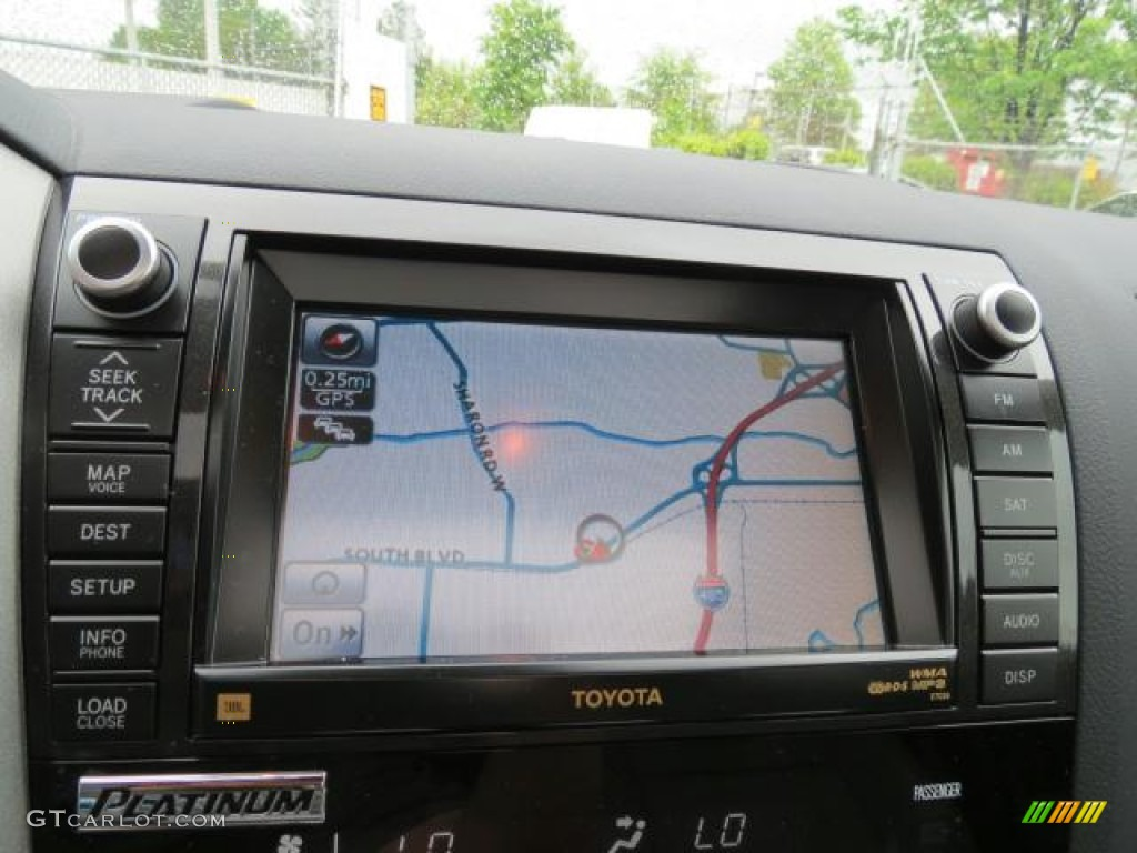 2010 Toyota Tundra Platinum CrewMax 4x4 Navigation Photo #65624955