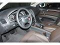 2012 Q7 3.0 TDI quattro Espresso Brown Interior