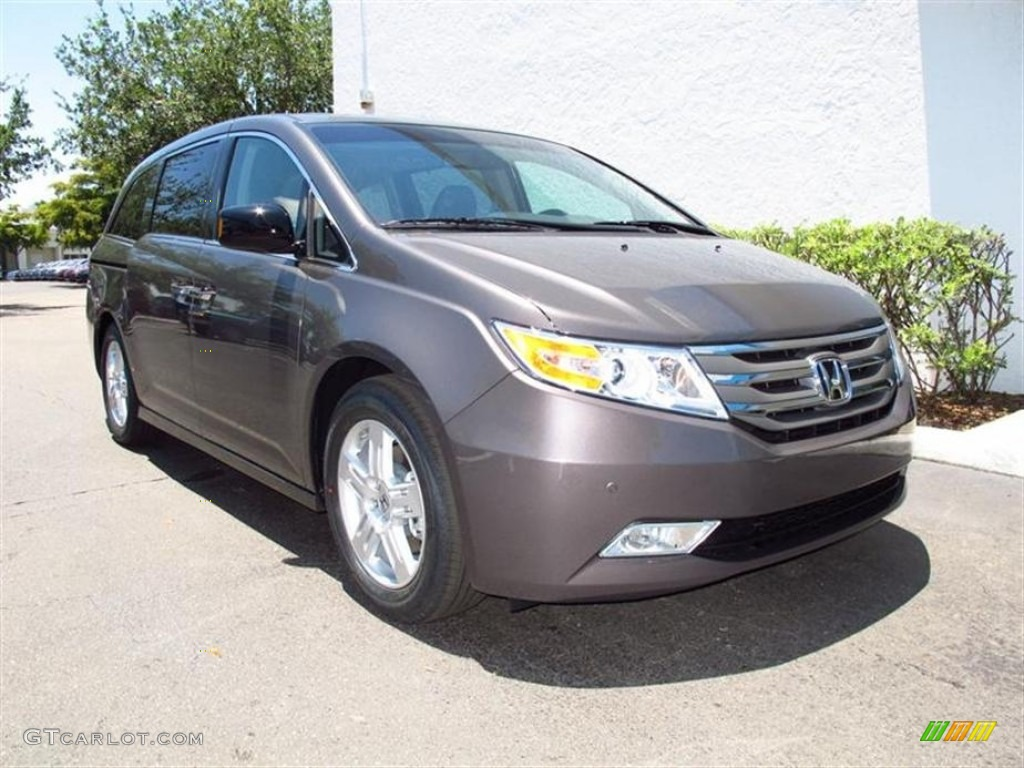 smoky topaz metallic 2012 honda odyssey touring elite exterior photo 65642131 gtcarlot