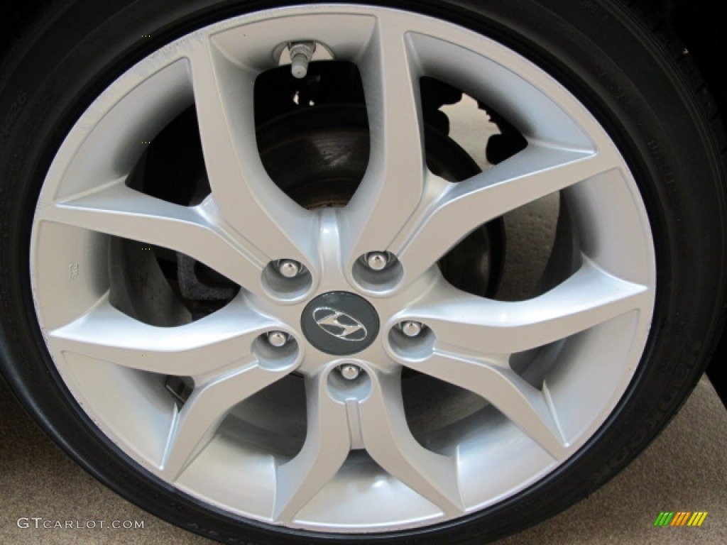 2008 Hyundai Tiburon GT Wheel Photo #65644660