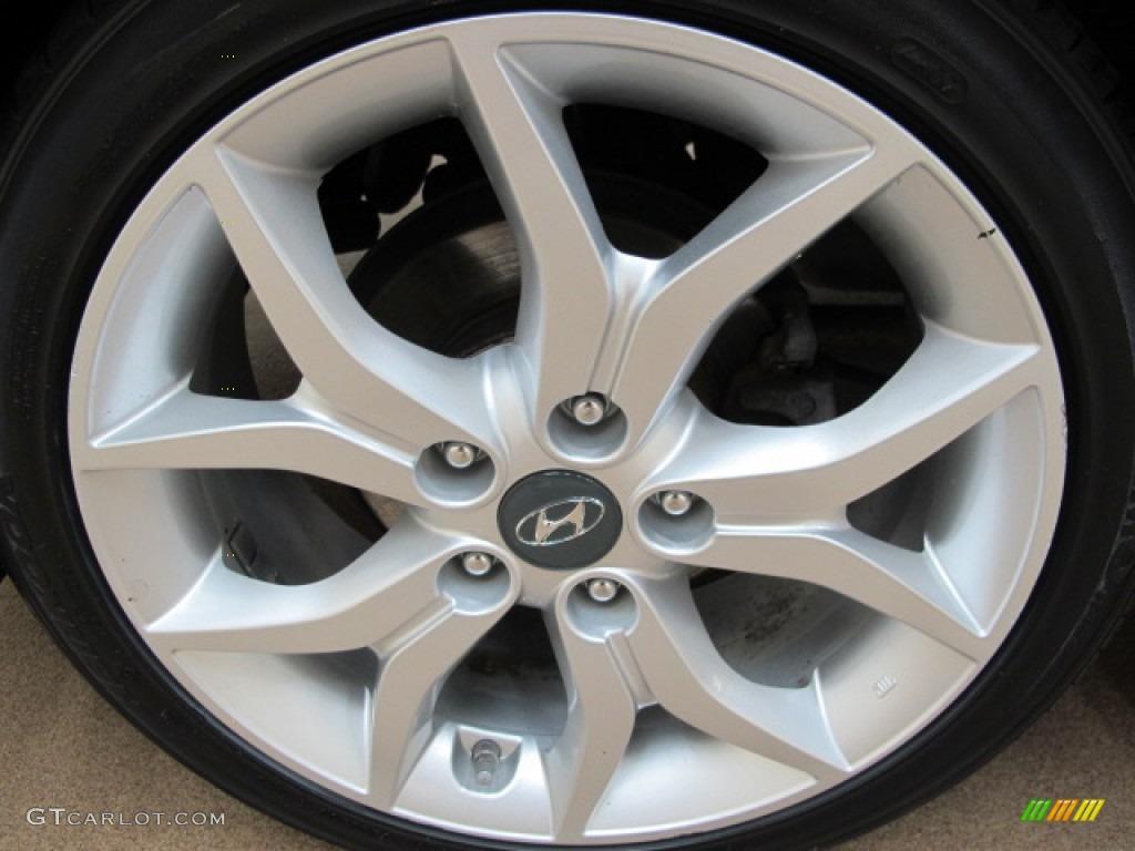 2008 Hyundai Tiburon GT Wheel Photo #65644666