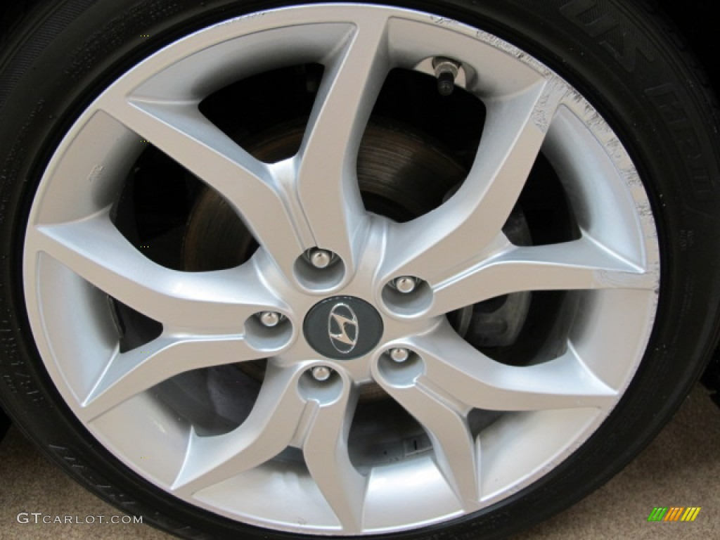 2008 Hyundai Tiburon GT Wheel Photo #65644675