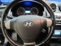 2008 Hyundai Tiburon GT Black Leather/Black Sport Grip Interior Steering Wheel Photo