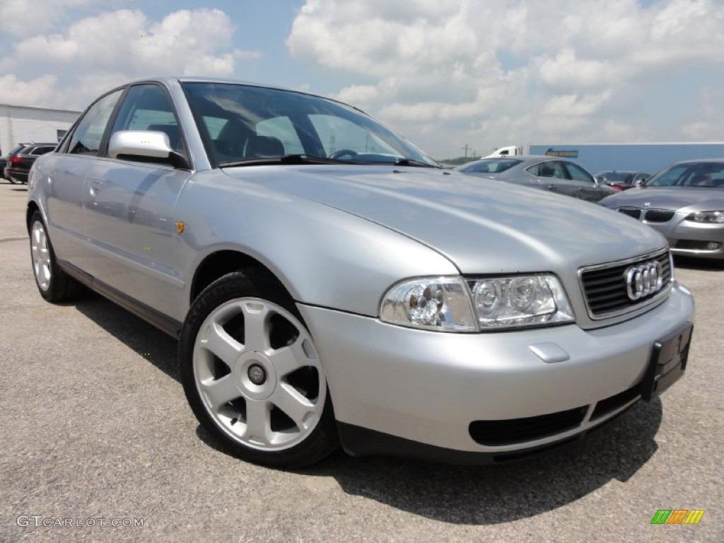 1998 Aluminum Silver Metallic Audi A4 2 8 Quattro Sedan