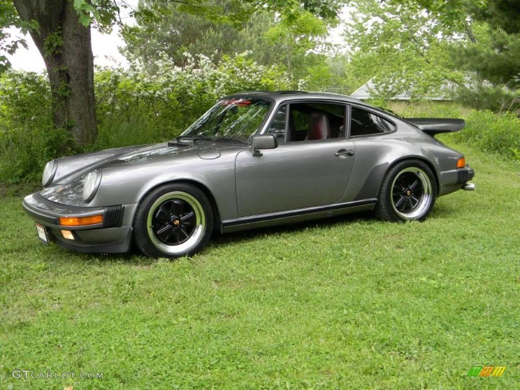 meteor grey metallic 1986 porsche 911 carrera coupe. Black Bedroom Furniture Sets. Home Design Ideas
