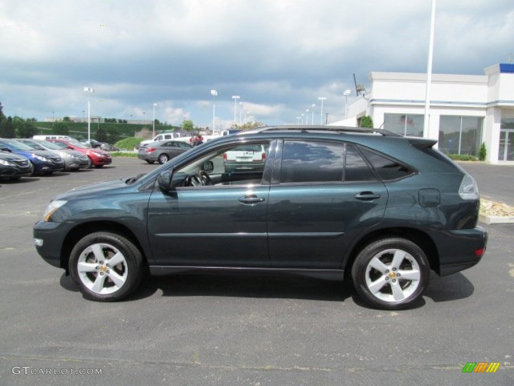 Black Forest Green Pearl 2004 Lexus Rx 330 Awd Exterior