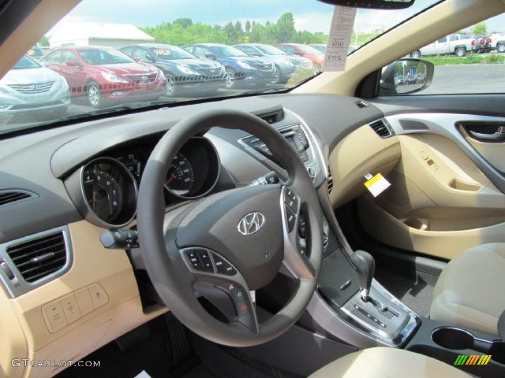 2013 Desert Bronze Hyundai Elantra Gls 65611693 Photo 7 Car Color Galleries