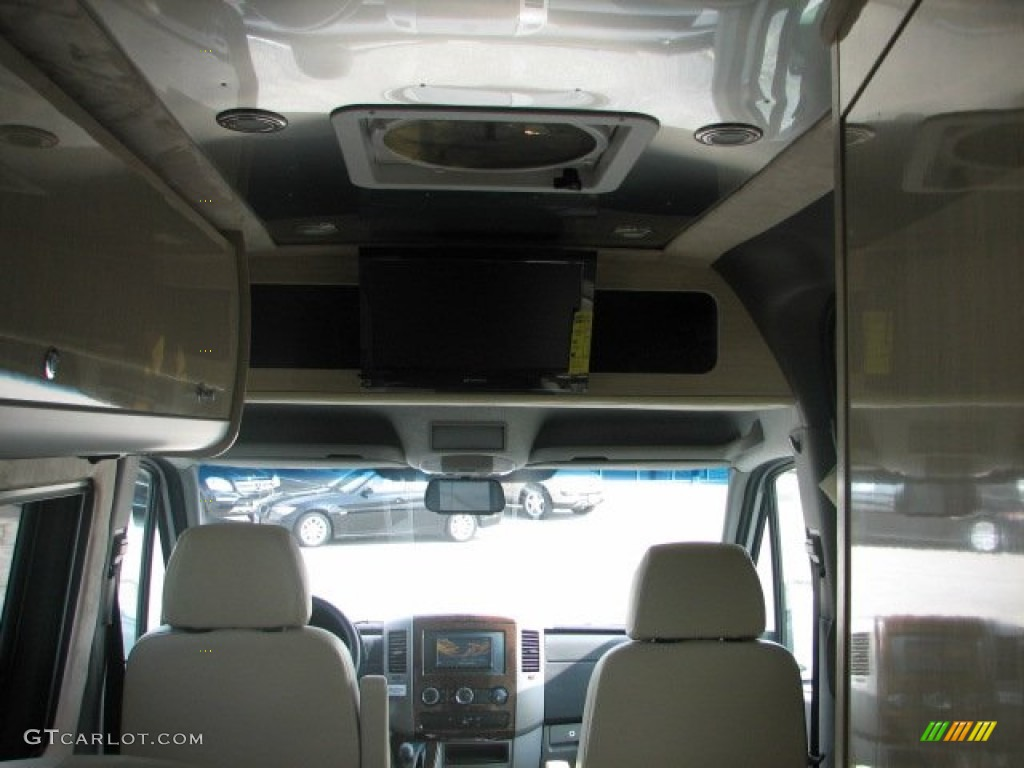 2011 Brilliant Silver Metallic Mercedes Benz Sprinter 3500