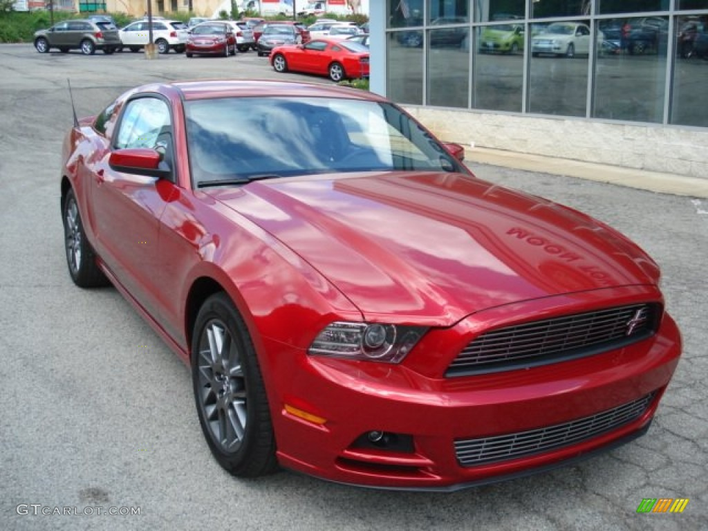 Red Candy Metallic 2013 Ford Mustang V6 Mustang Club of America ...
