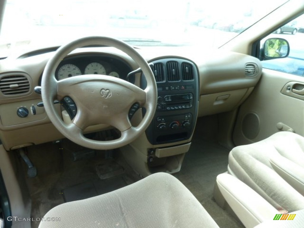 Sandstone Interior 2001 Dodge Caravan SE Photo 65677309